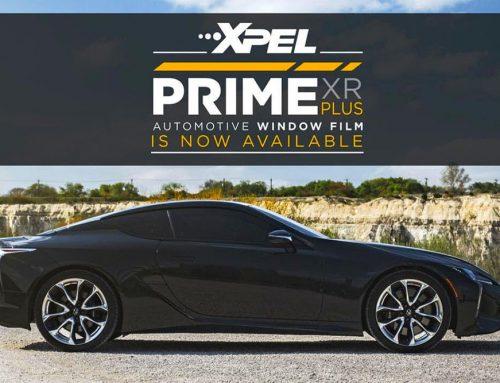 Nová generácia okenných autofólií XPEL PRIME XR PLUS