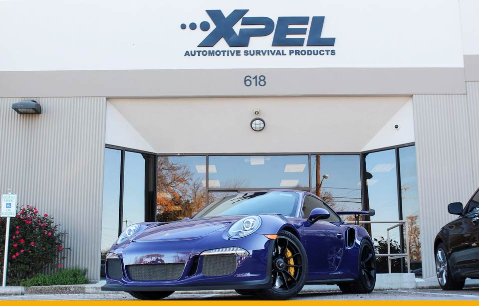 Porsche GT3RS s autofóliami XPEL